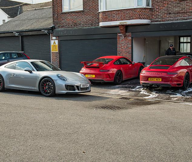 Porsche 911's