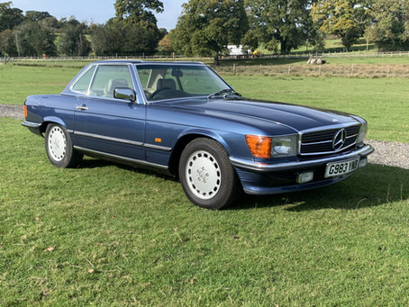 MERCEDES 300SL AUTOMATIC 1989 ONLY 83000 MILES