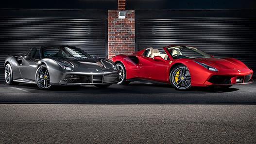 Ferrari 488 Spiders