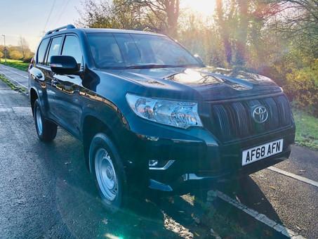 Toyota Land Cruiser UTILITY 4X4 2.8 D-4D 5dr (Vat Q)