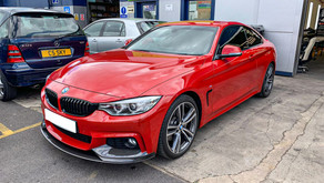 BMW M4 - XPEL PPF Front Splitter