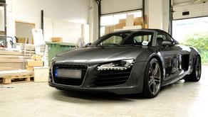 Audi R8 Spyder - New Car Detail