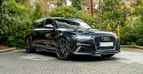 Audi RS6 - Maintenance wash four years on...