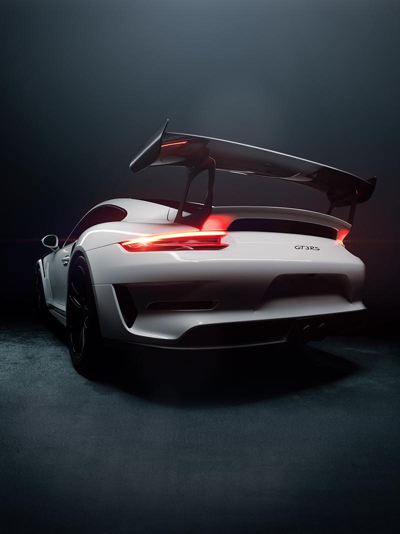 Porsche 911 GT3 RS Weissach Rear Tall