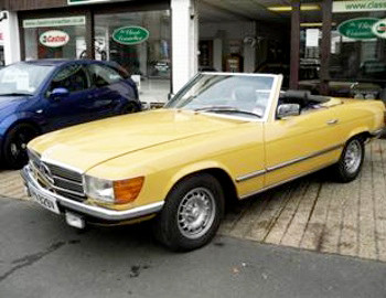 PREVIOUS MERCEDES RESTORATIONS AT CLASSIC CONNECTION