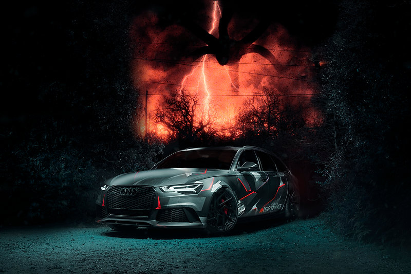 Stranger Things Audi RS6