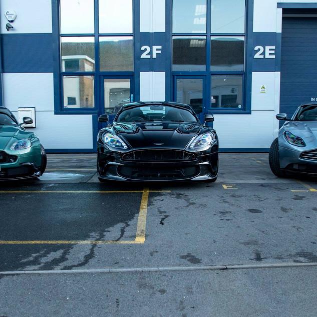 Aston GT8 / Vanquish S / DB11