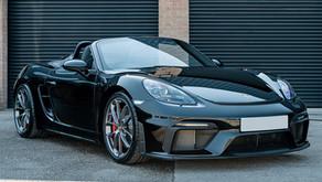 Porsche 718 Spyder - Gtechniq New Car Detail & PPF