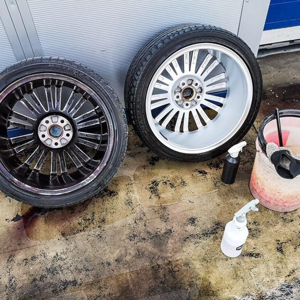 Wheels Cleaned