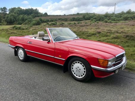 MERCEDES 300SL 1987 ONE OWNER FOR OVER 30 YEARS