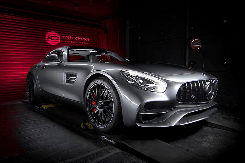 Mercedes AMG GTS New Car Prep