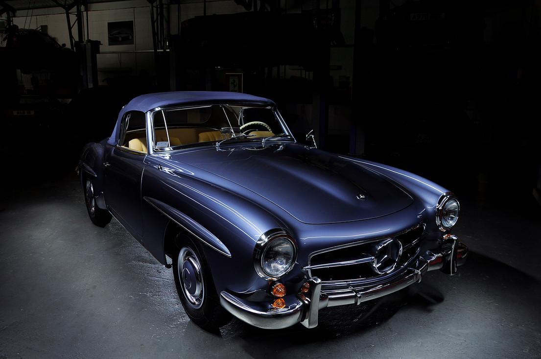 Mercedes Benz 190SL Blue (1).jpg
