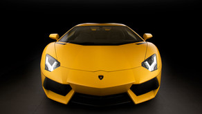Lamborghini Aventador Matte Yellow - Gtechniq EXO detail