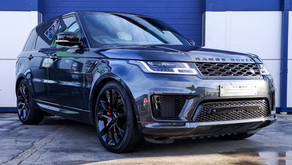 Range Rover Sport HST - Enhancement Detail