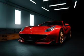 Ferrari F12 TDF Red