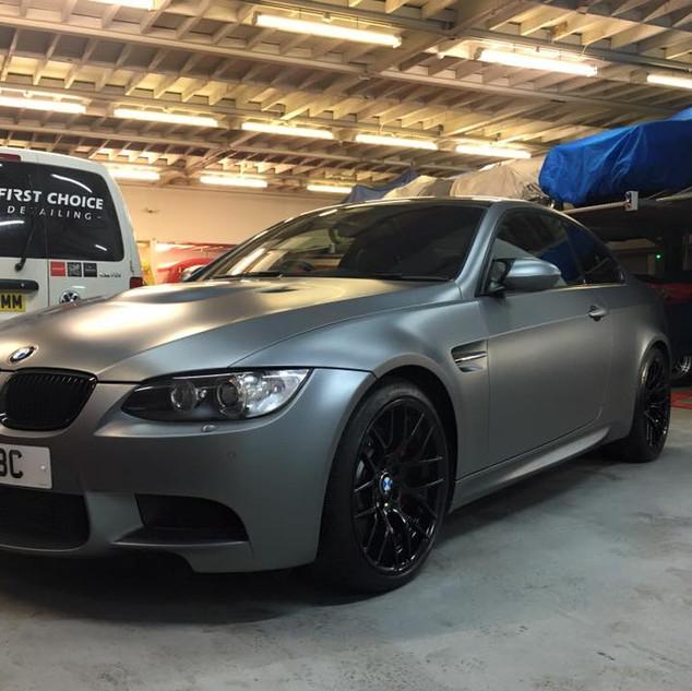 BMW M3 - Maintenance Wash