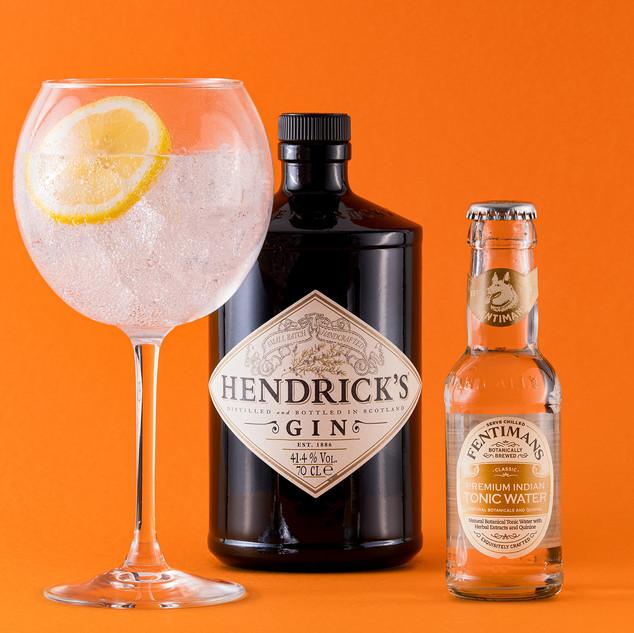 Hendricks with Fentimans Tonic