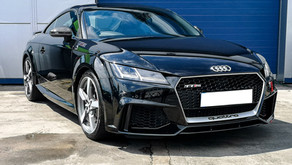 Audi TT RS - Correction Detail