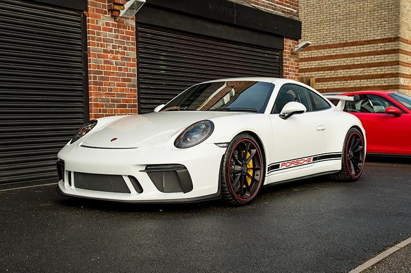 Porsche GT3 White