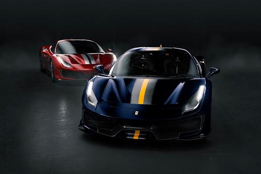 Ferrari Pista's