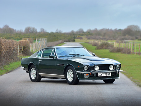 ASTON MARTIN V8 OSCAR INDIA MANUAL 1978 1 OF 12