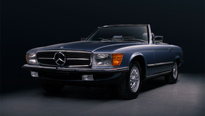 Mercedes-Benz 280SL - Enhancement Detail and Gtechniq Crystal Serum