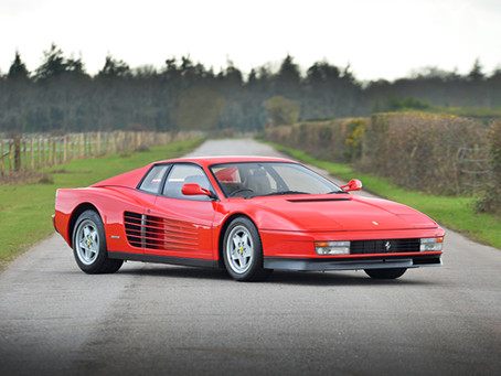FERRARI TESTAROSSA 1991 RIGHT HAND DRIVE UK SUPPLIED