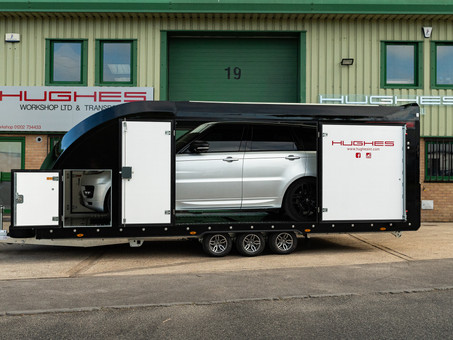 Our new enclosed trailer - Ready for hire!