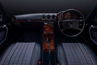 Mercedes 280SL Interior