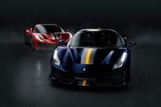 Ferrari 488 Pista Red & Blue