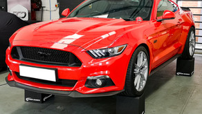 Ford Mustang GT 5.0 - Correction Detail