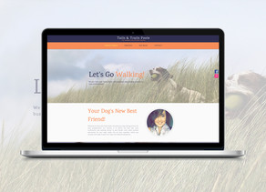 Web & SEO - Tails & Trails - New Website
