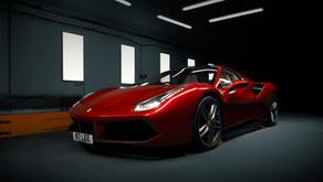 Ferrari 488 GTB Spider - Xpel Paint Protection Film