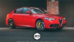 Alfa Romeo Giulia - XPEL PPF