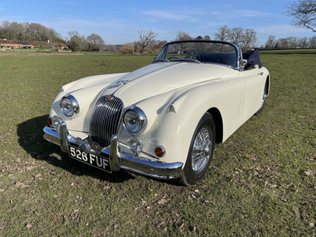 JAGUAR XK150 SE UK MATCHING NUMBERS