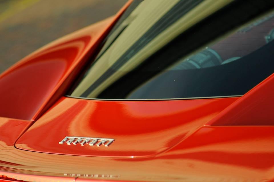Ferrari 458 - Swissvax Detail