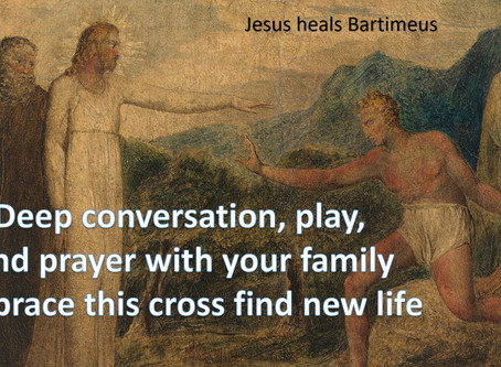 Healing of Bartimeus Sunday 3/29/2020