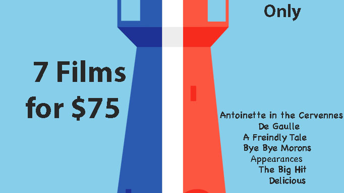 7 films for $75 Season Pass French Film Festival Caloundra only