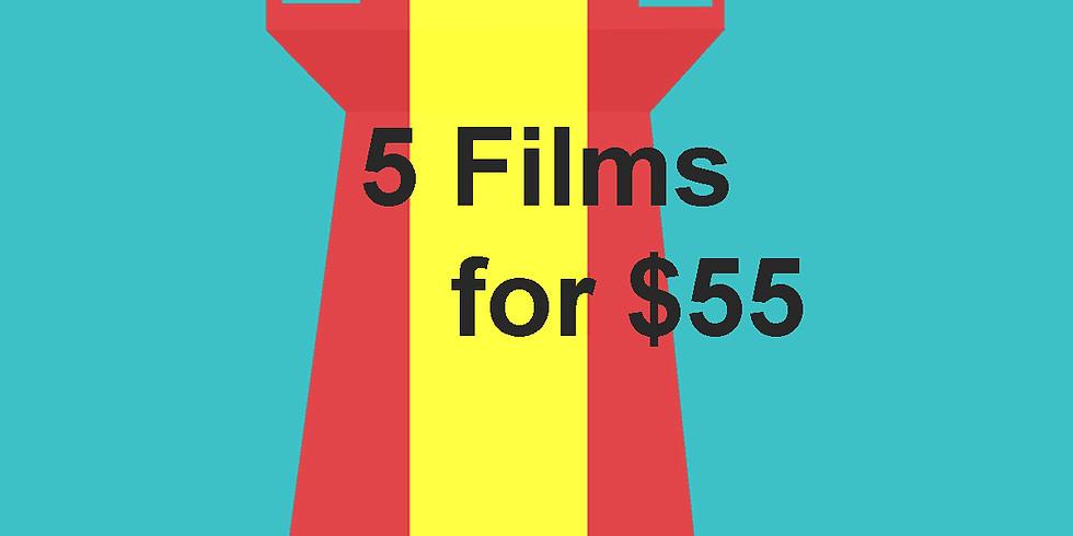 5 for $55 Spanish Film Festival Pass