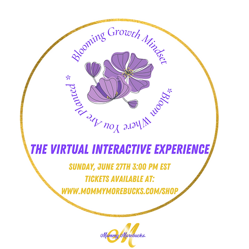 The Blooming Growth Mindset: The Virtual Interactive Experience
