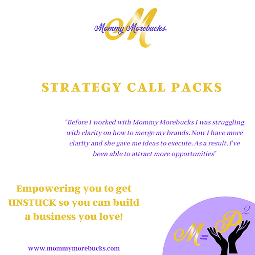 Strategy Call Session- **SINGLE CALLS ONLY**