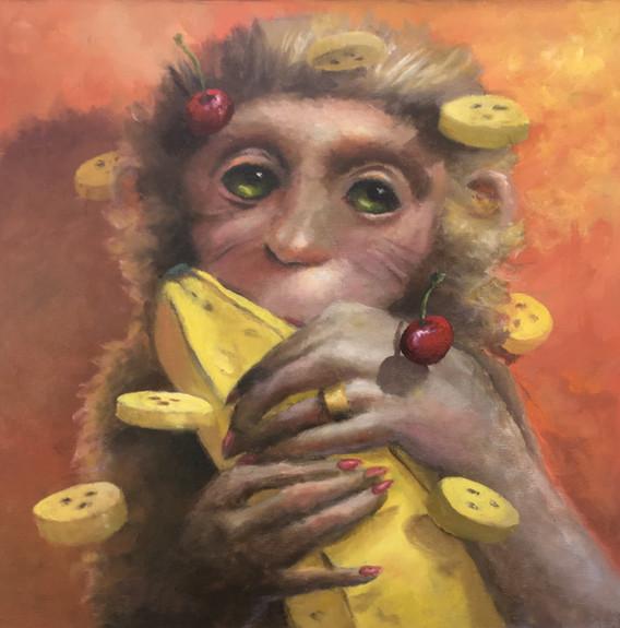 """""""Small Girl Big Banana"""""""