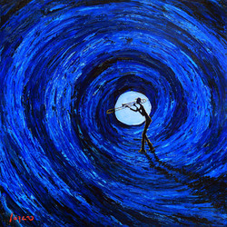 Blue moon. SOLD!