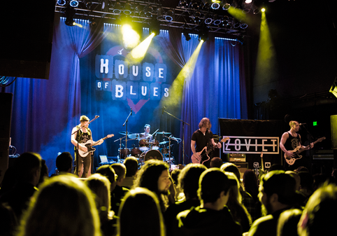 """""""Dame Más"""" Release at House of Blues!"""