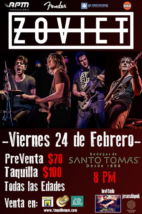 ZOVIET en Ensenada!
