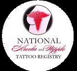 National Areola & nippe tatoo registry logo