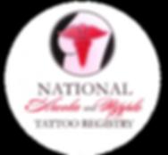 Logo of the National Arola and Nipple Tattoo Registry