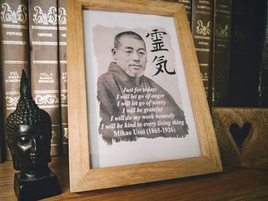 A picture of Reiki Founder Dr Mikao Usui