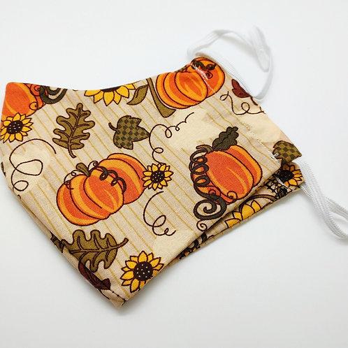 Pumpkin Patch Face Mask