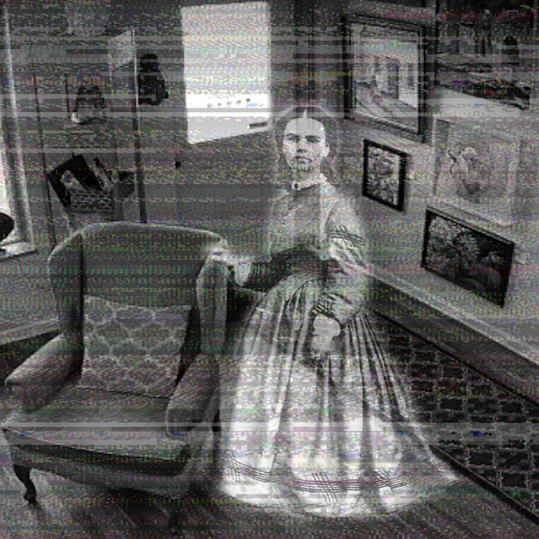 Meet the HAUNTED Lady